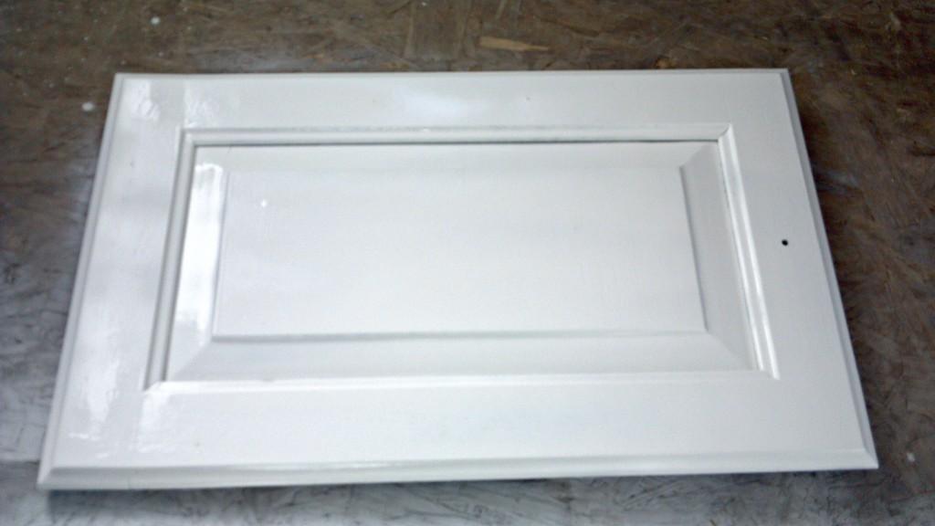 RV cabinets Primed