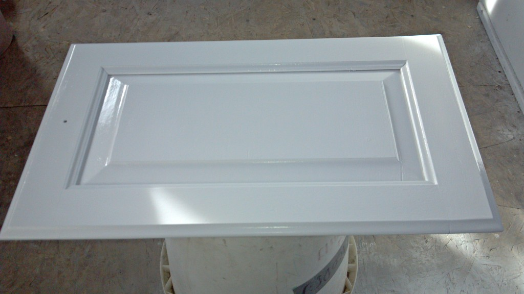 RV cabinets Topcoat