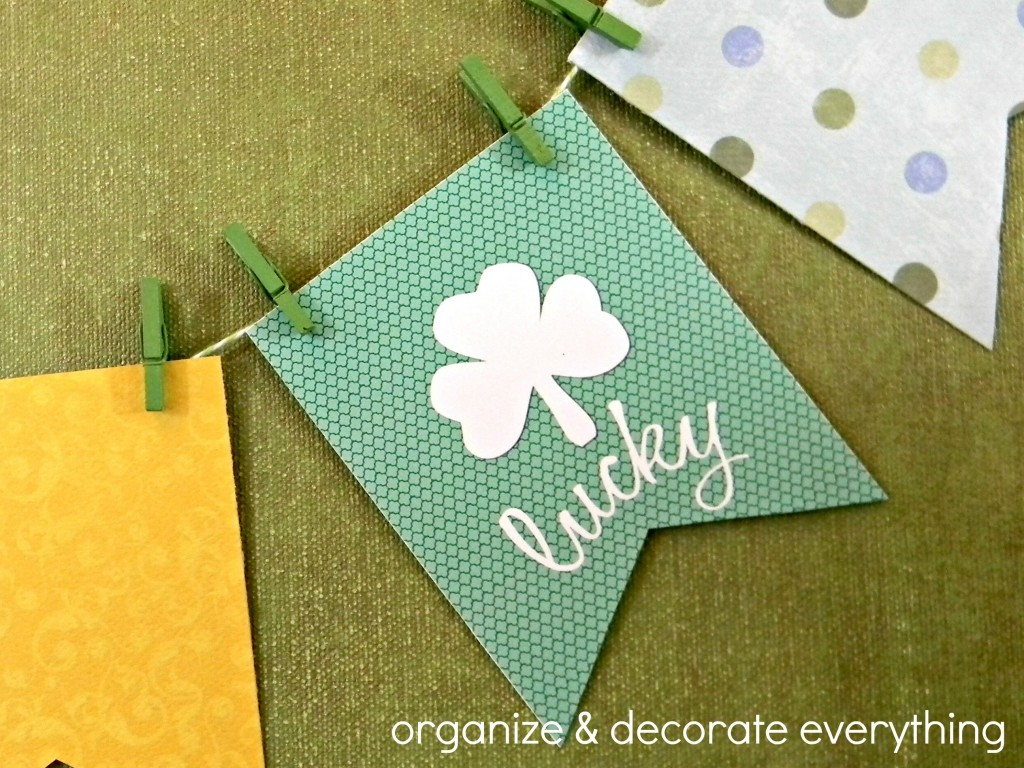 Shamrock Lucky printable 6.1