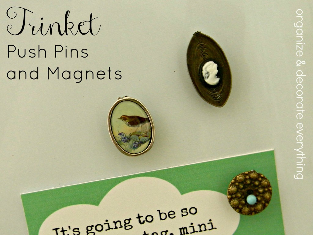 push pins and magnets.1