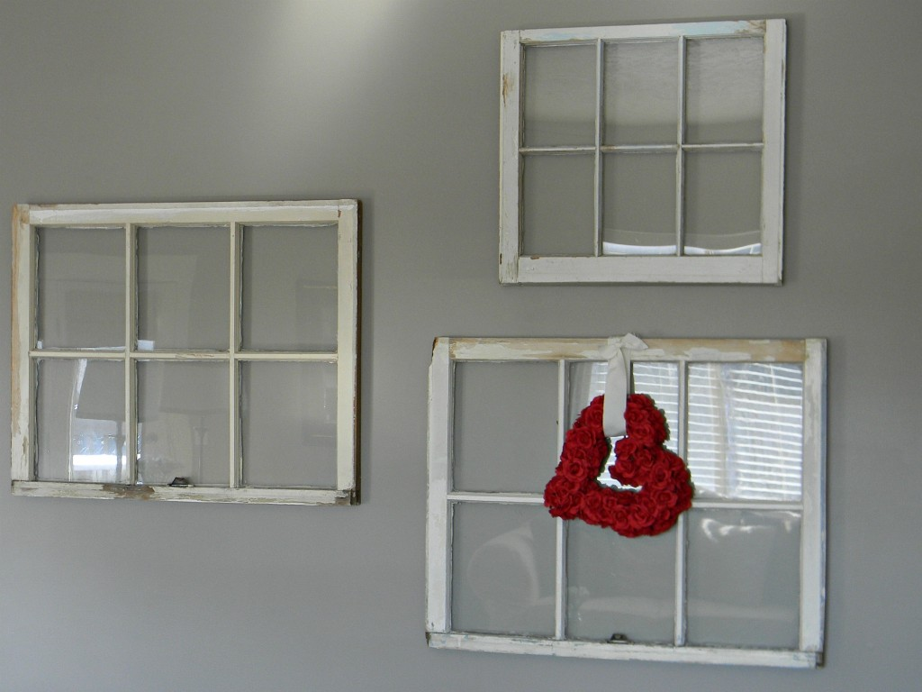 Old windows as decor organize and decorate everything valentines decor 5 amipublicfo Gallery