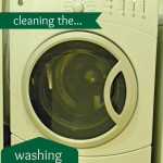 Cleaning the Washing Machine
