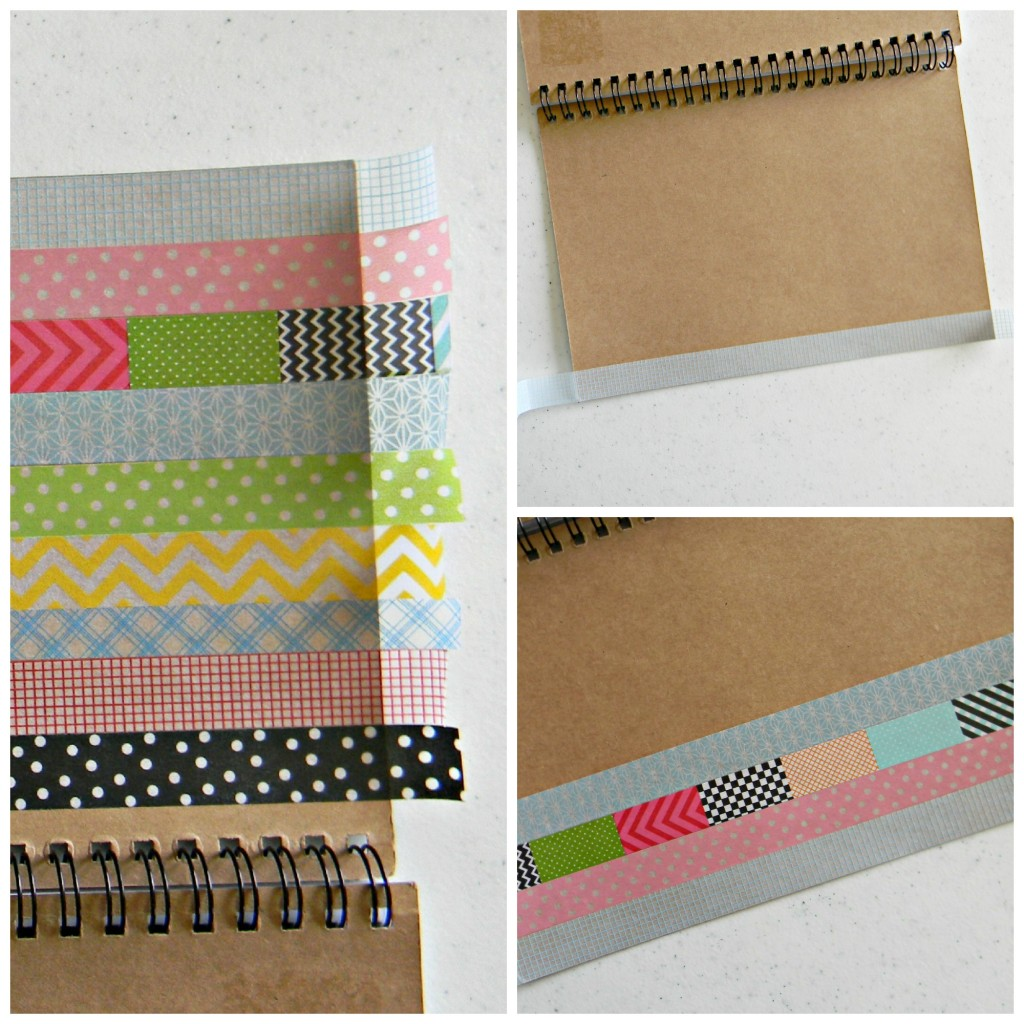 washi tape collage