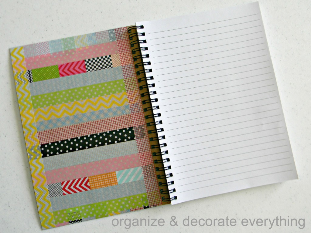 washi tape notebook 4.1