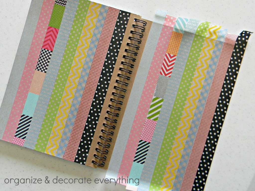 washi tape notebook 5.1