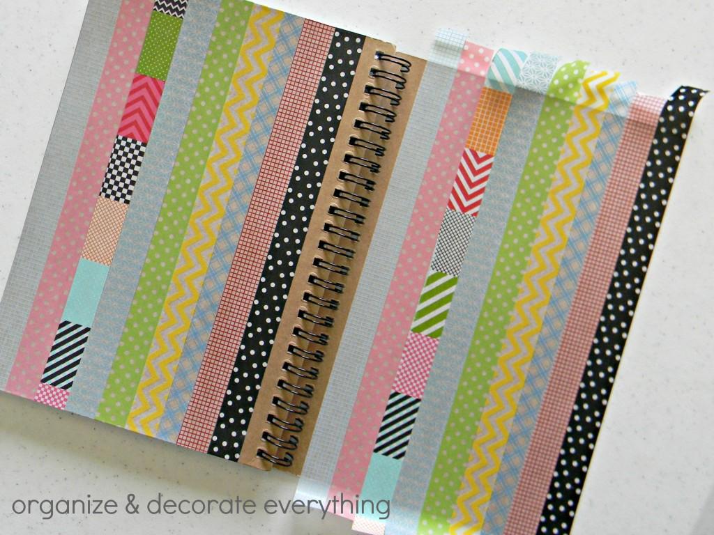washi tape notebook 5.1