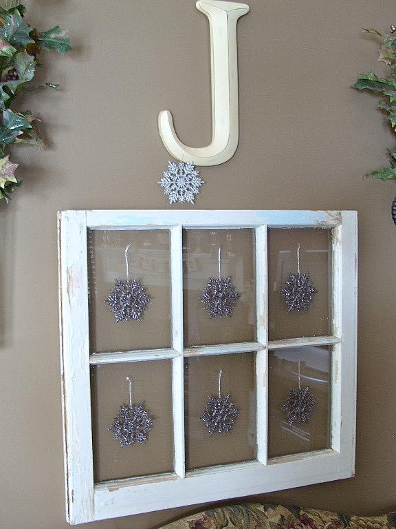 window decor snowflakes