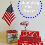 4th of July Mini Stacker
