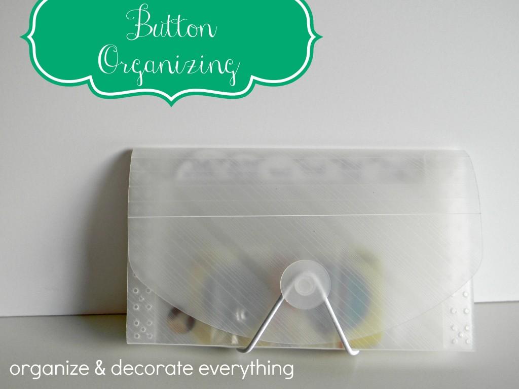 Button Organizing 6.1