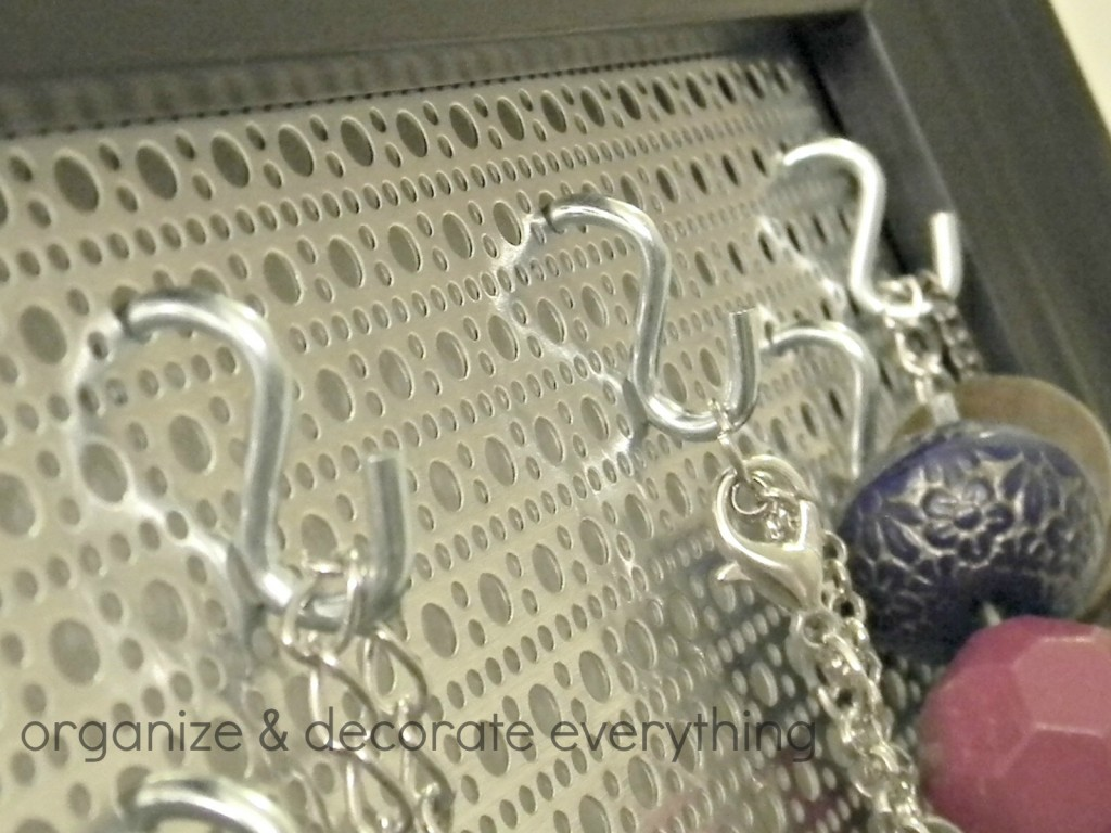 Hanging Jewelry Organizer 12.1