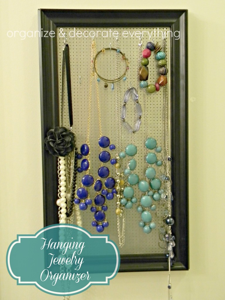 Hanging Jewelry Organizer 2.1
