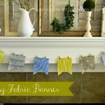 Easy Fabric Banner