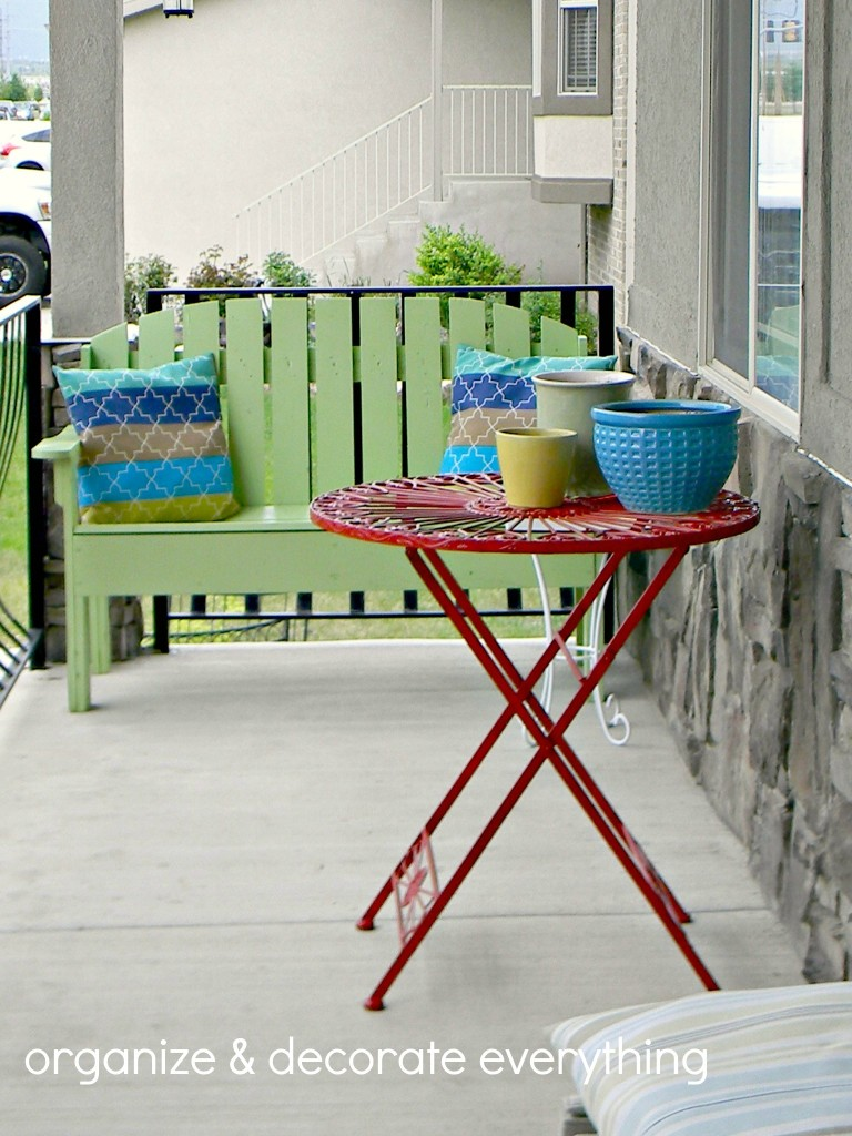painted bench 2.1