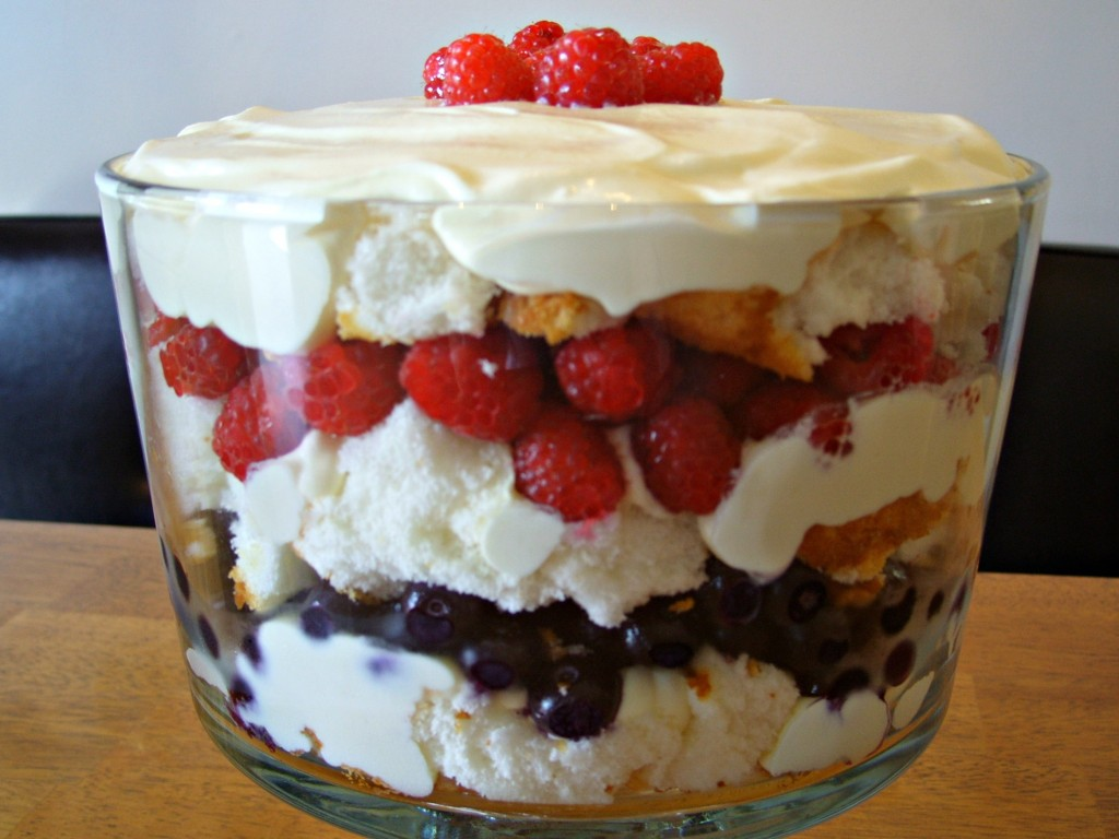 Berry Trifle 2