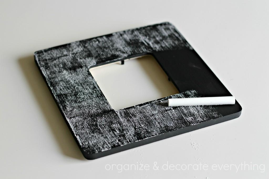 Chalkboard frame 7.1