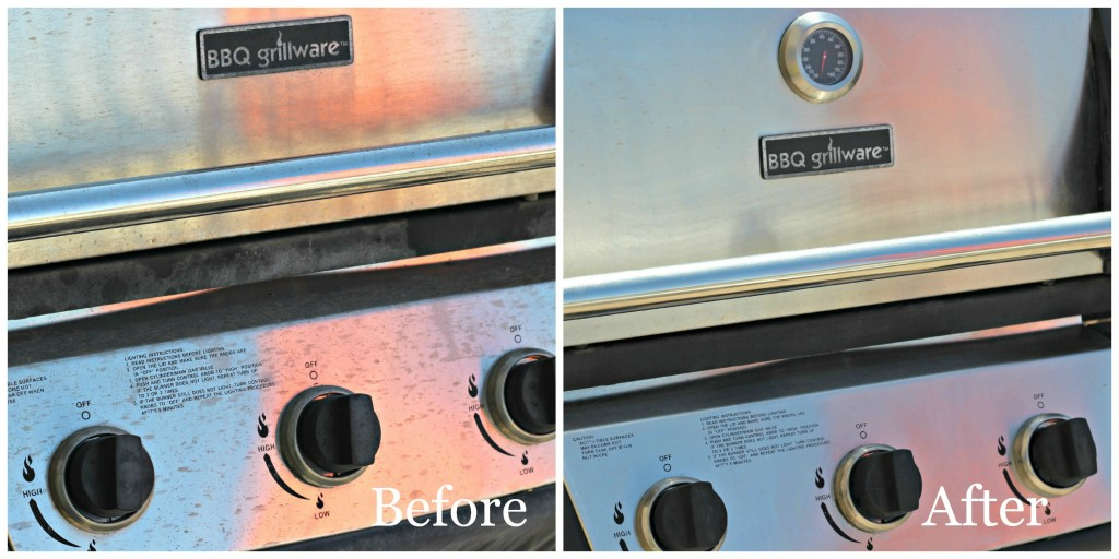 Grill panel before and after.1