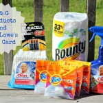 Winner of the Lowe's $100 Gift Card & Summer Done Bright Gift Pack