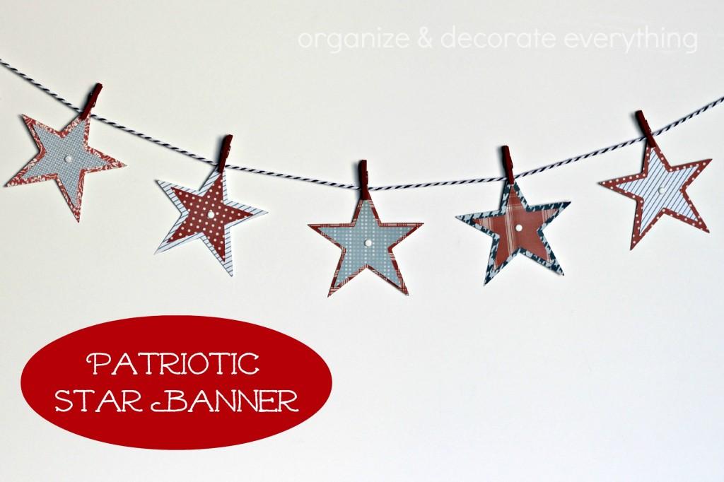 Patriotic Star Garland 2.1