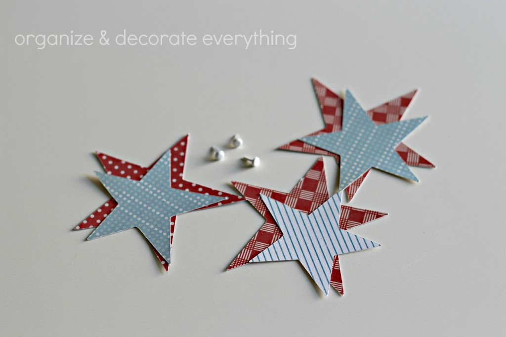 Patriotic Star Garland 4.1