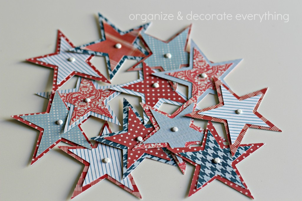 Patriotic Star Garland 5.1