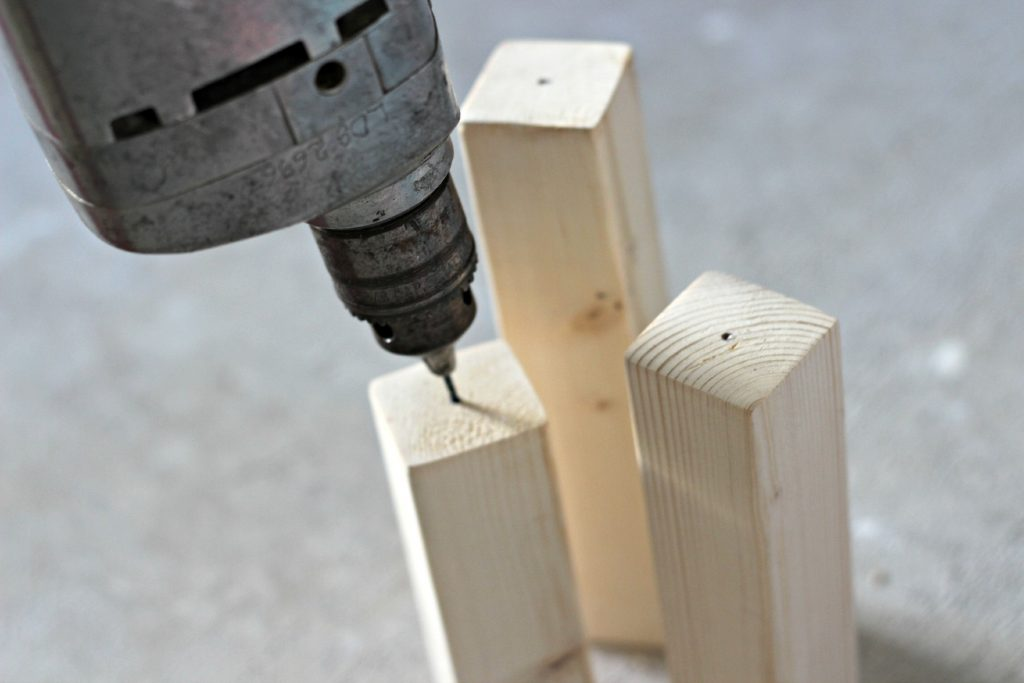 mini stacker firecrackers raw wood