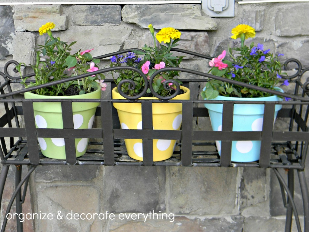 polka dot pots 5text