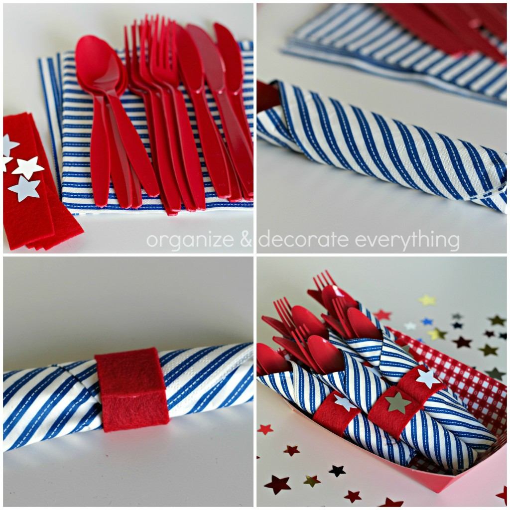 4th of July felt napkin rings.1