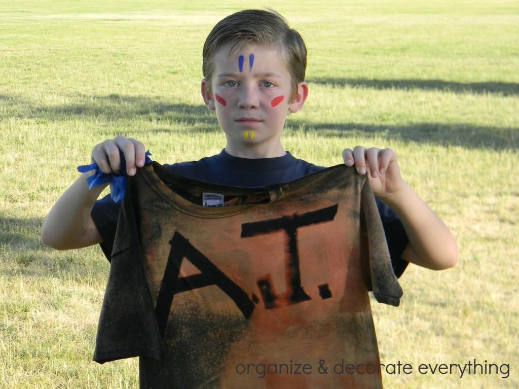 Bleach Sprayed Shirts 13.1