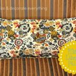 Flange Lumbar Pillow from Napkin