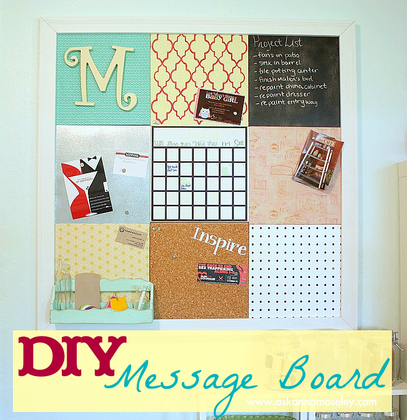 Pegboard - DIY message board