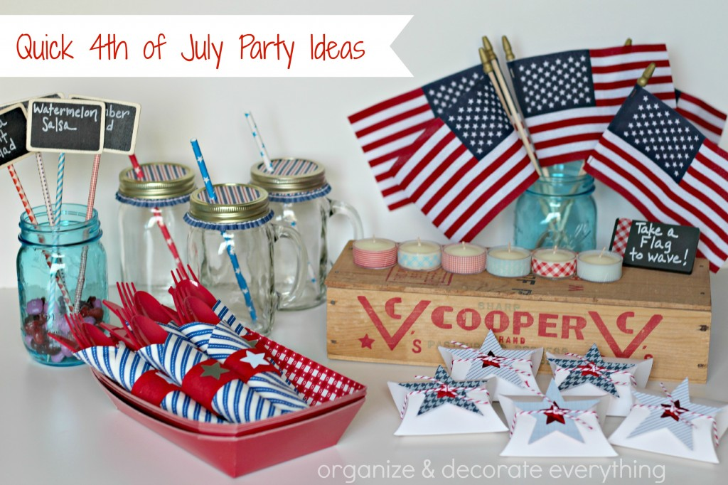 Quick 4th of July Party Ideas.1
