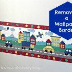 Removing a Wallpaper Border