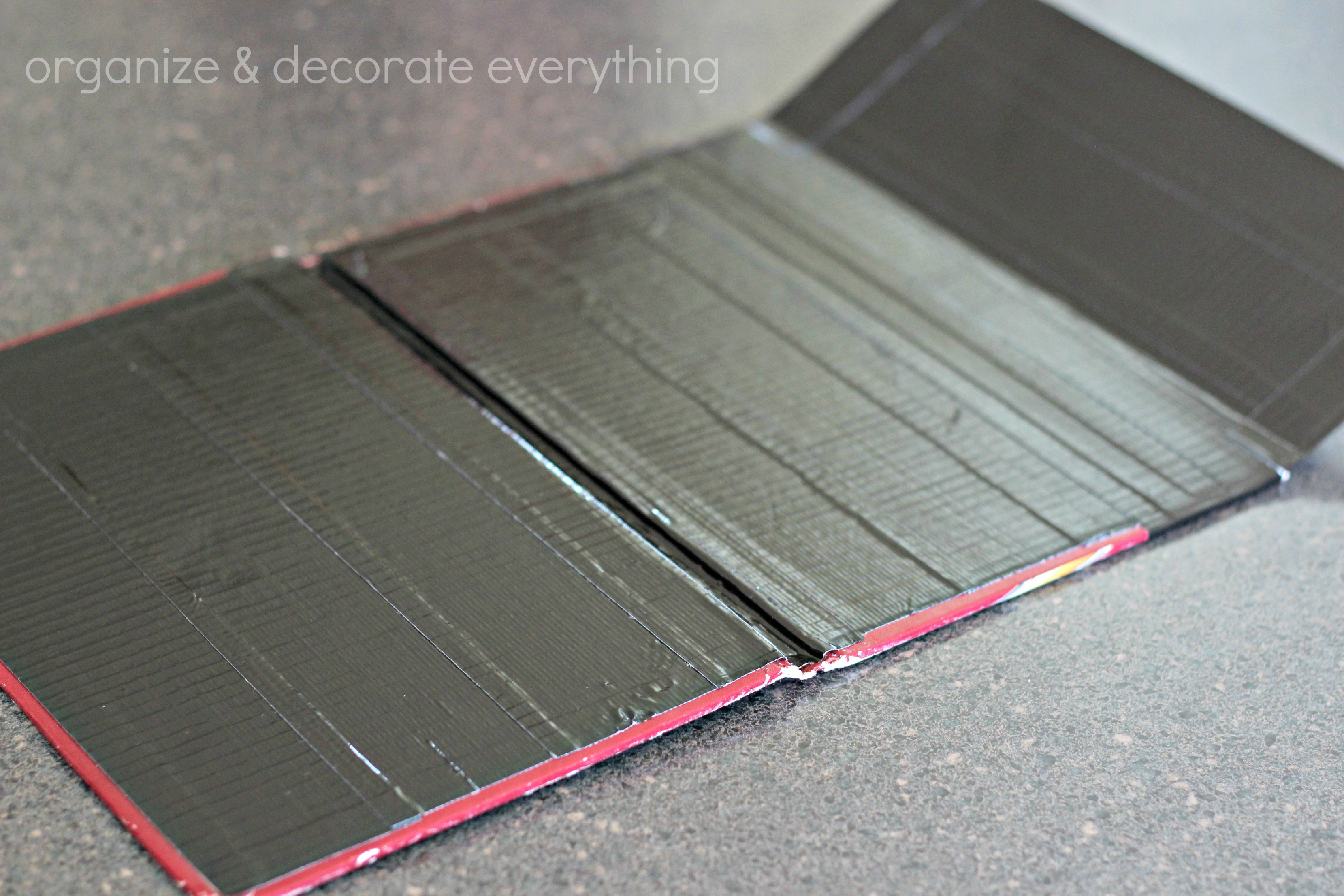 Diy Book Cover For Tablet : Duck tape tablet case organize and decorate everything
