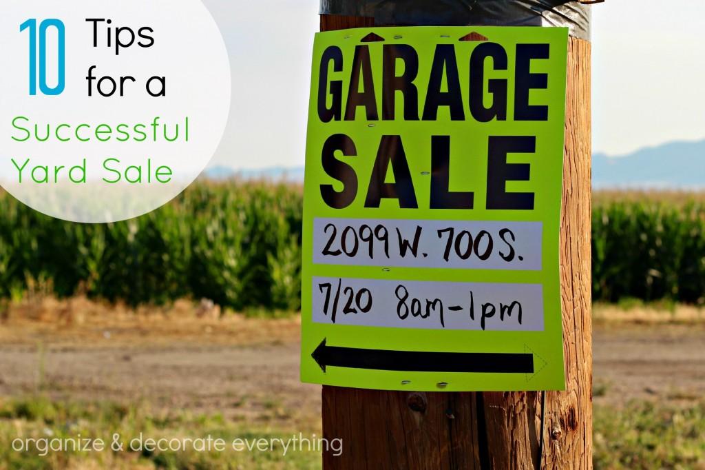 garage sale 1.1
