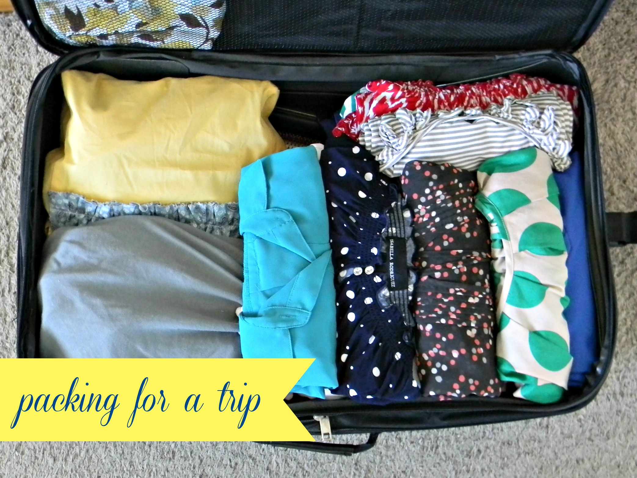 Packing for a trip