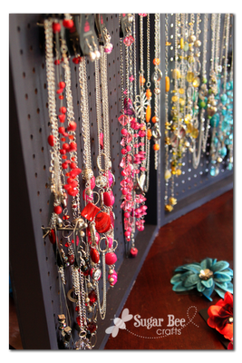 pegboard-jewelry display