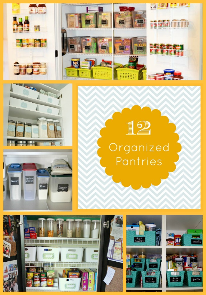 12 Organized Pantries