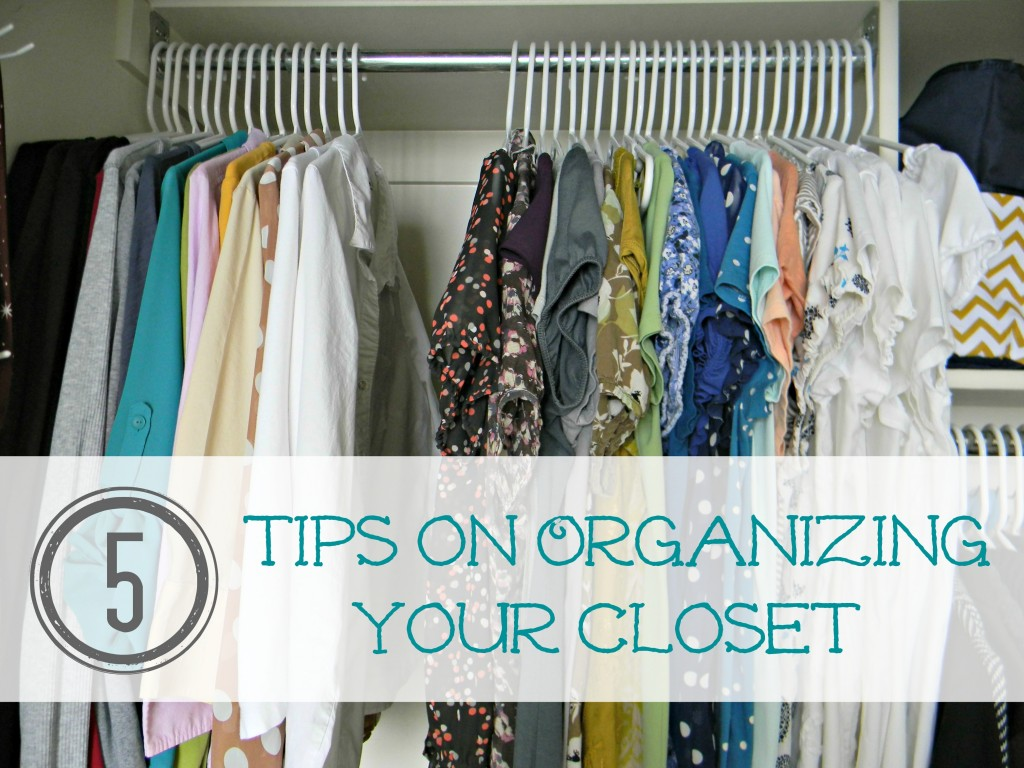 Master Closet Organization button