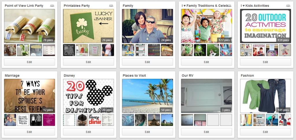 Pinterest-family