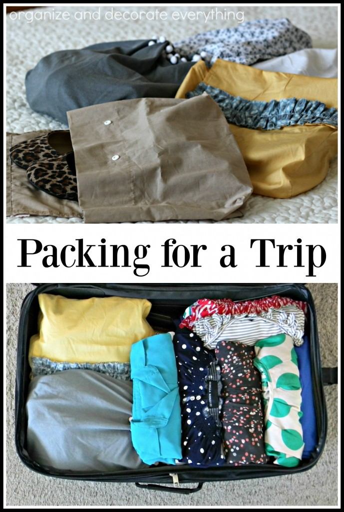 the best tips for saving time and space while packing for a trip