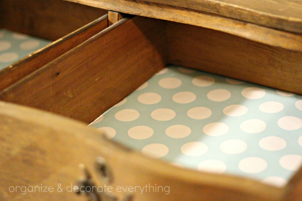 wrapping paper lined drawers 2.1