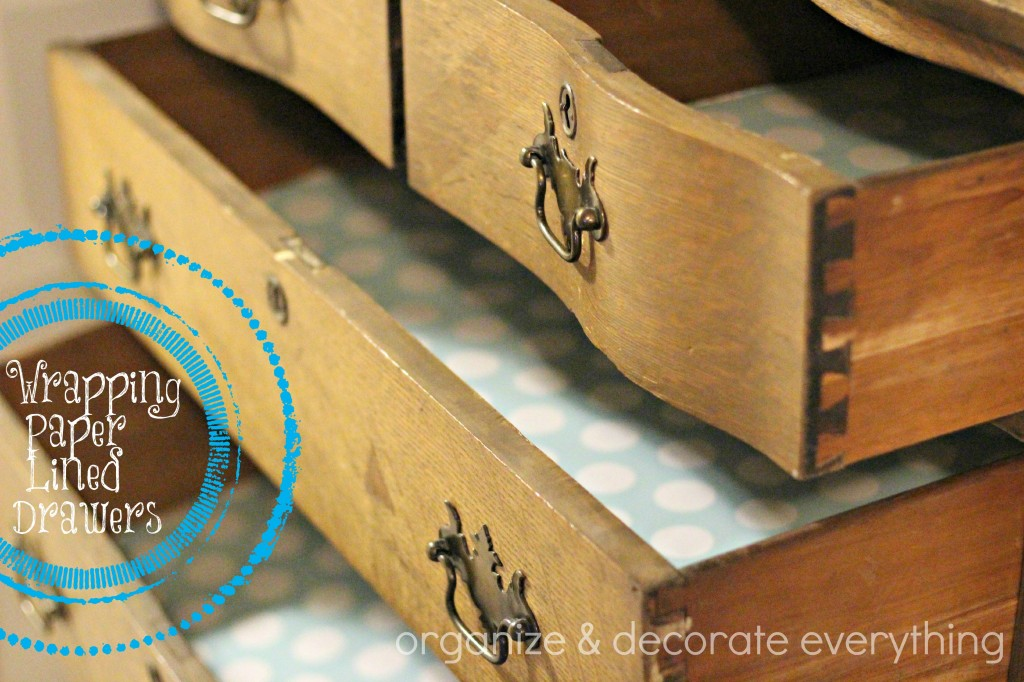 wrapping paper lined drawers 4.1