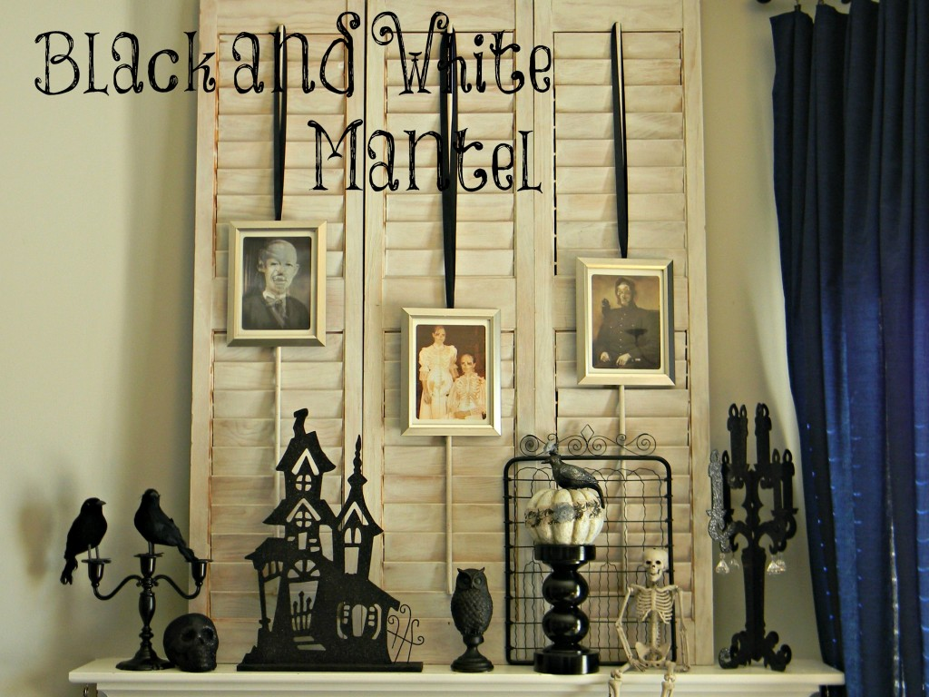 Black and White Mantel 5.2