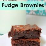 Classic Fudge Brownies – Food Contributor