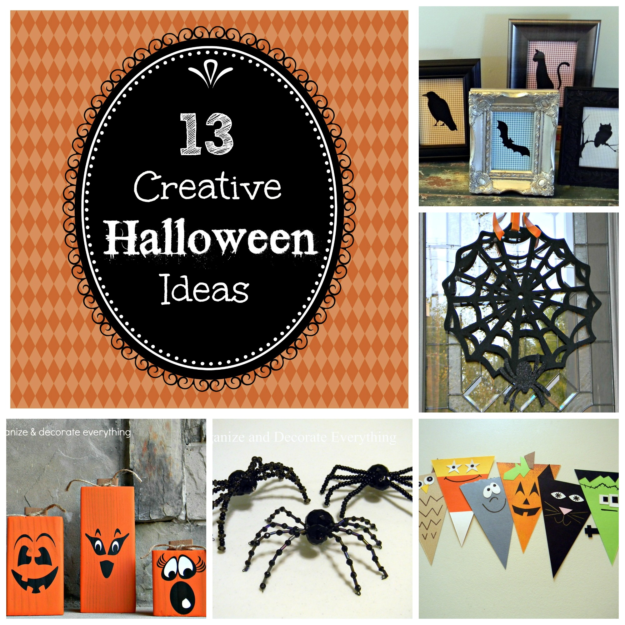Creative Halloween Decoration Ideas: Organize And Decorate Everything