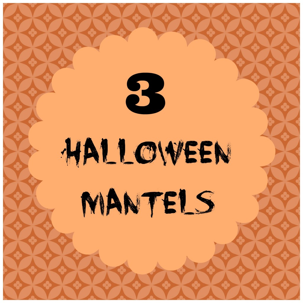 Halloween mantel button