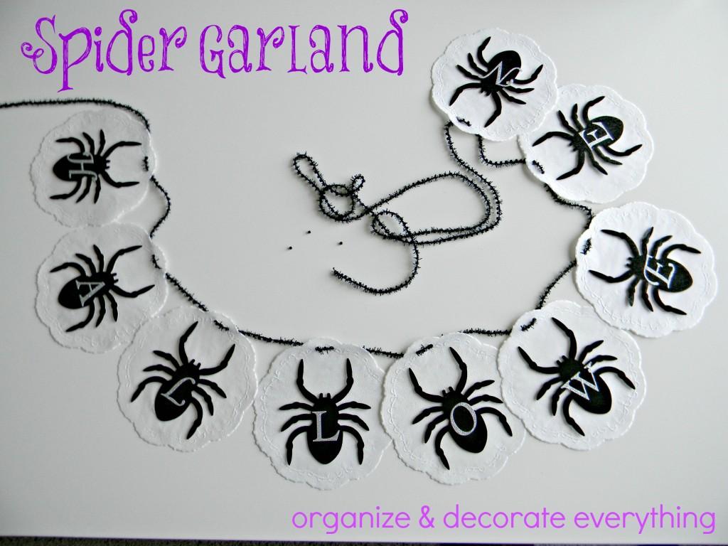 Spider Garland 1.1