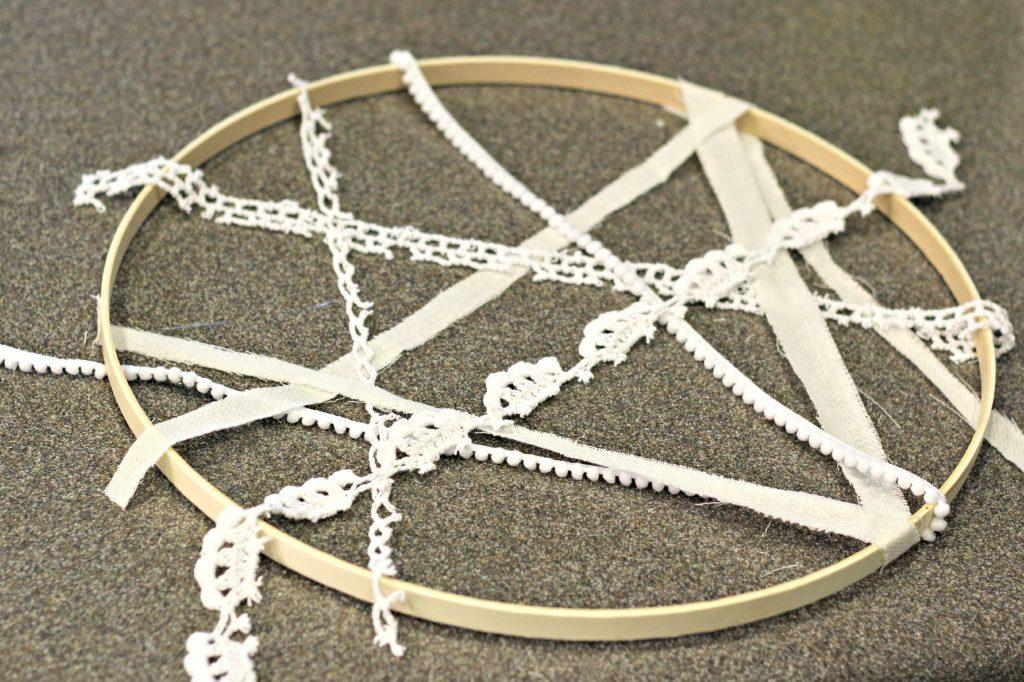 Spider Web Hoop 6