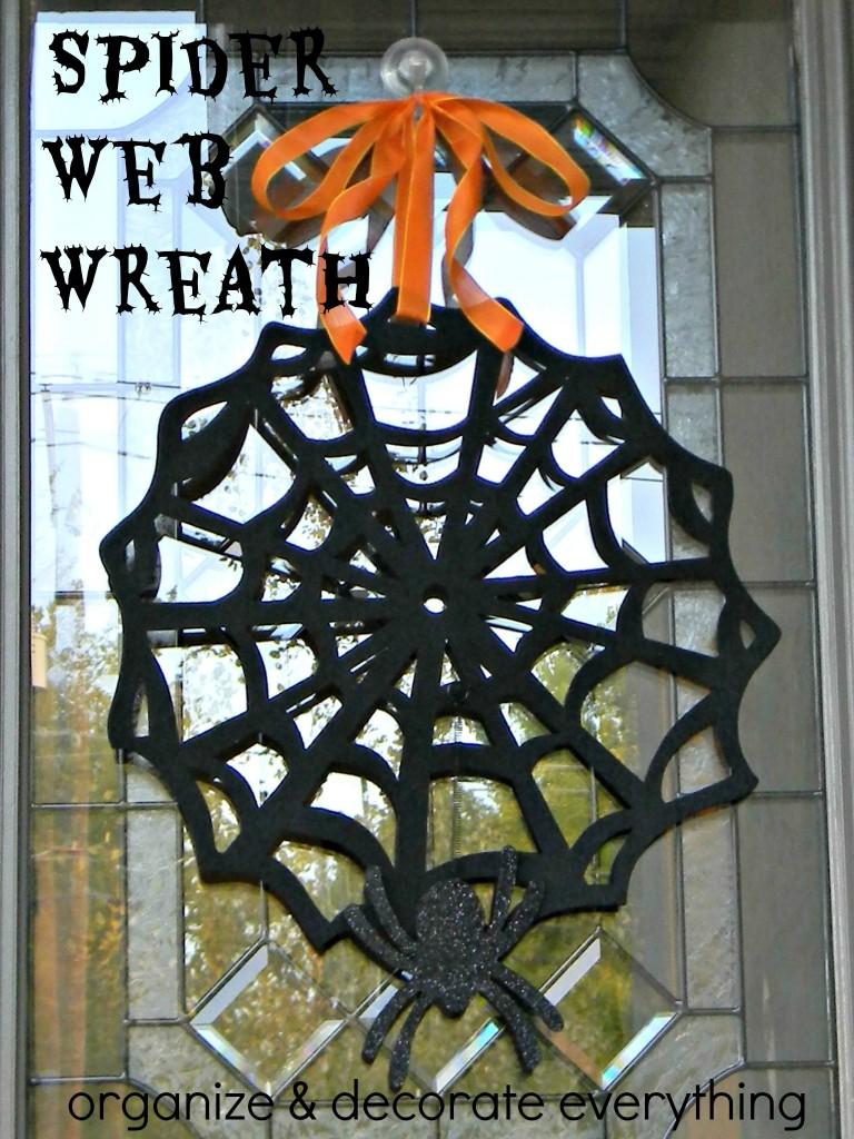 Spider Web Wreath 3.2