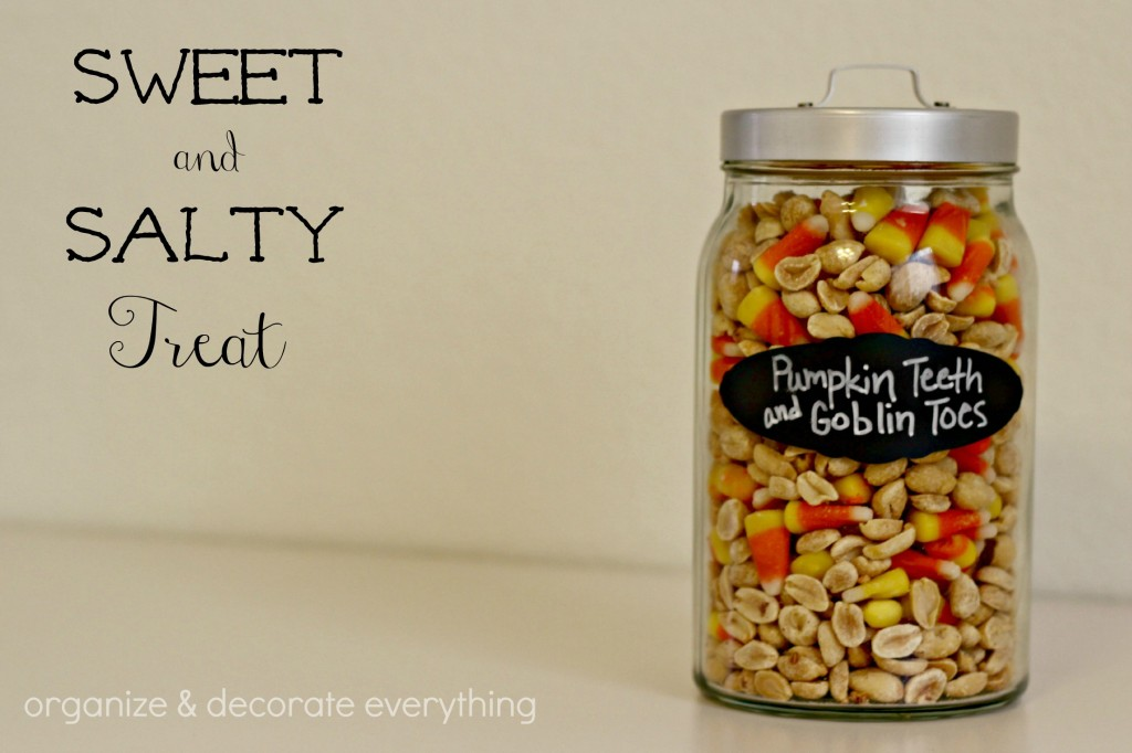 candy corn and peanuts.1